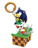 Sonic the Hedgehog - Diorama Sonic