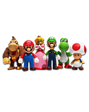 Super Mario - Large Figure Special 6 Pack Collection
