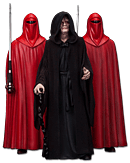 Star Wars Episode 6: Return of the Jedi - Emperor Palpatine & The Royal Guards (3-Pack)