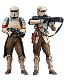 Star Wars: Rogue One - Shoretrooper (Squad Leader & Captain)