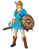 The Legend of Zelda: Breath of the Wild - Link (Medicom Toy)