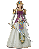 The Legend of Zelda: Twilight Princess - Zelda