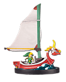 The Legend of Zelda: Wind Waker - Link on The King of Red Lions (Figuren)
