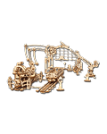 UGEARS Models: Rail Mounted Manipulator (70032)