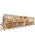 UGEARS Models: Locomotive with Tender (70012)
