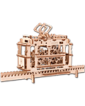 UGEARS Models: Tram on Rails (70008)