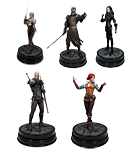 The Witcher 3: Wild Hunt - 5er Figuren Set (Geralt, Triss, Ciri, Yennefer, Eredin)