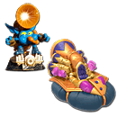 Skylanders SuperChargers Combo Pack: Big Bubble Pop Fizz & Soda Skimmer