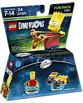 LEGO Dimensions Fun Pack: Simpsons Bart (71211) (Figuren)