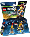 LEGO Dimensions Fun Pack: LEGO Movie Emmet (71212) (Figuren)