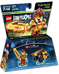 LEGO Dimensions Fun Pack: Chima Laval (71222) (Figuren)