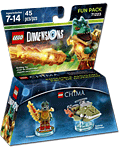 LEGO Dimensions Fun Pack: Chima Cragger (71223) (Figuren)
