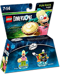 LEGO Dimensions Fun Pack: Simpsons Krusty (71227) (Figuren)