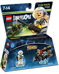 LEGO Dimensions Fun Pack: Back to the Future - Doc Brown (71230) (Figuren)