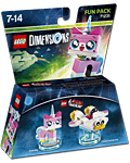 LEGO Dimensions Fun Pack: LEGO Movie Unikitty (71231) (Figuren)