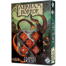 Arkham Horror Cursed Dice Set -rot-