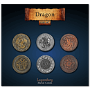 Legendary Metal Coins - Dragon Coin Set
