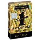 Number 1 Gold Deck Playing Cards