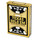 Poker Cards Texas Hold'em PVC - Jumbo Index Face Black