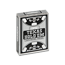 Poker Cards Texas Hold'em PVC - Peek Index Black