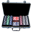 Poker Set Texas Hold'em Profi-Set - 300 Chips