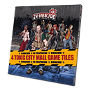 Zombicide: 4 Toxic City Mall Game Tiles