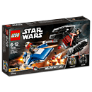 LEGO Star Wars: A-Wing vs. TIE Silencer -Microfighters- (75196)