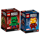 LEGO Super Heroes: Brickheadz Iron Man & The Hulk (41590 & 41592)