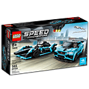 LEGO Speed Champions: Formula E Panasonic Jaguar Racing GEN2 car & Jaguar I-PACE eTROPHY (76898)