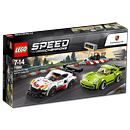 LEGO Speed Champions: Porsche 911 RSR & 911 Turbo 3.0 (75888)