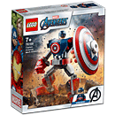 LEGO Super Heroes: Avengers - Captain America Mech Armour (76168)