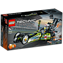 LEGO Technic: Dragster Rennauto (42103)