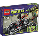 Lego Turtles: Shredders Turbobike