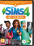 Die Sims 4: Get to Work (Code in a Box) (Macintosh)