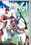 Magi: The Labyrinth of Magic, Band 04 (Manga)