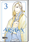 The Heroic Legend of Arslan, Band 03 (Manga)