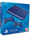 Sony PS3 Super-Slim 500 GB -Blue- (Sony)
