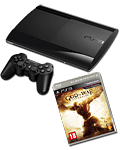 Sony PS3 Super-Slim 500 GB God of War: Ascension Bundle inkl. Kratos-Bandana (Sony)