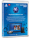 Playstation Network Card SFr. 50.-- (Sony)
