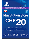 Playstation Store Guthaben CHF 20.-- (Sony) (Playstation 3)