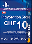 Playstation Store Guthaben CHF 10.-- (Sony)