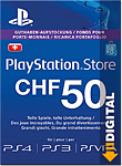Playstation Store Guthaben CHF 50.-- (Sony)