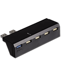 5-Port USB Hub -Black- (Hama)