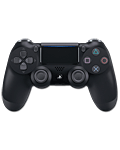 Controller Dualshock 4 -Jet Black- (Sony) (Playstation 4)