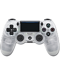 Controller Dualshock 4 -Crystal- (Sony)