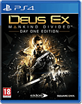 Deus Ex: Mankind Divided - Day 1 Edition (Playstation 4)
