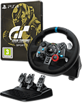 Lenkrad G29 Driving Force Bundle inkl. Gran Turismo Sport - Steelbook Ed. (Logitech) (Playstation 4)