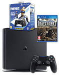 Sony Playstation 4 Slim 1 TB - Controller Fortnite Neo Versa Set inkl. Days Gone (Sony)