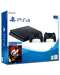 Sony Playstation 4 Slim 1 TB - GT Sport Set -Black- (Sony)