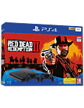 Sony Playstation 4 Slim 1 TB - Red Dead Redemption 2 Set -Black- (Sony)